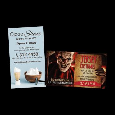 Business Card Magnets Jumbo Square Corners 4.75