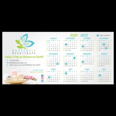 Calendar Magnets Square Corners 4