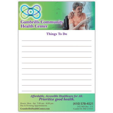 To Do List Magnets Square Corners 5.75